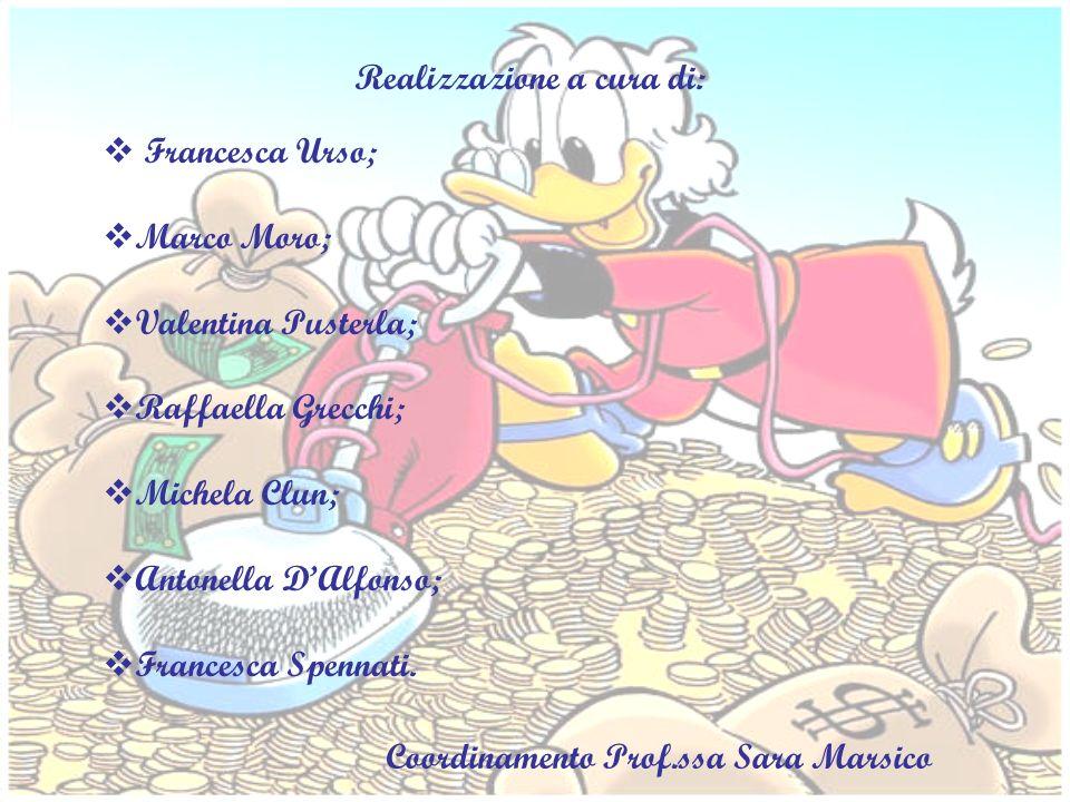 Realizzazione a cura di: Francesca Urso; Marco Moro; Valentina Pusterla; Raffaella Grecchi; Michela Clun; Antonella DAlfonso; Francesca Spennati. Coor