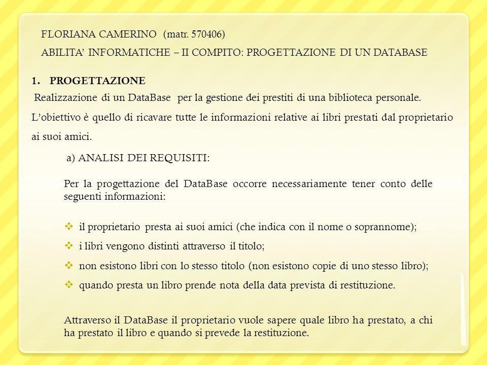 FLORIANA CAMERINO (matr.