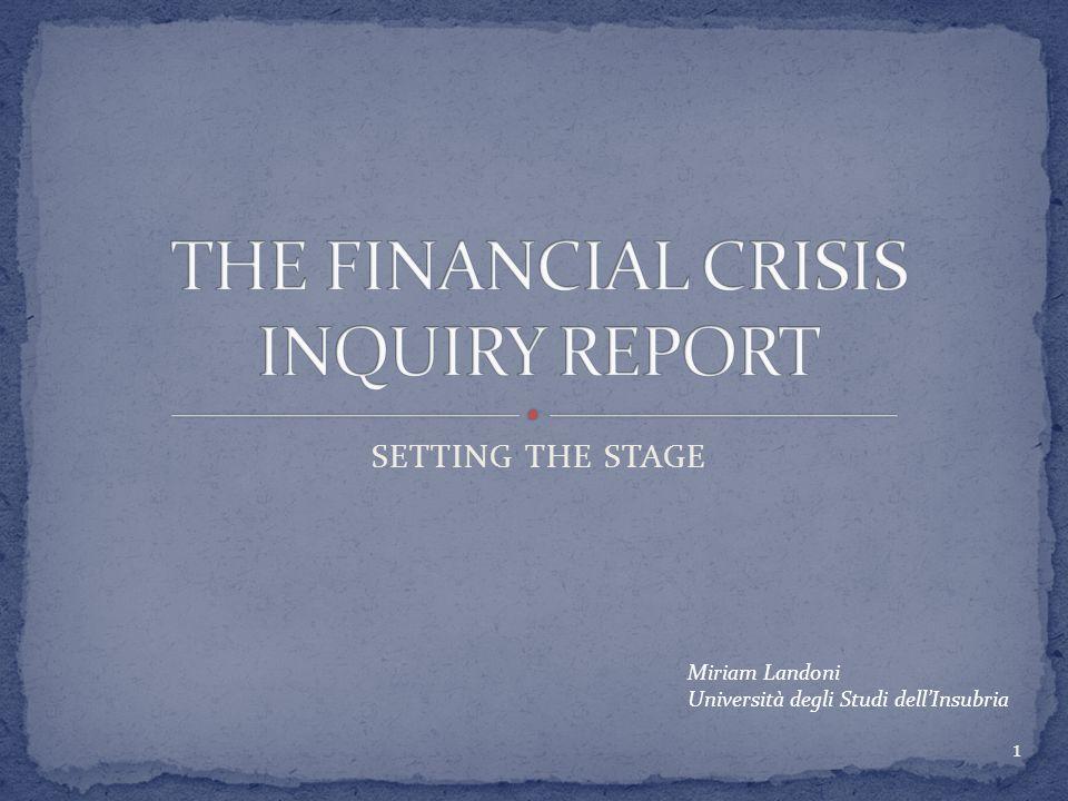 SHADOW BANKING SECURITIZATION AND DERIVATIVES DEREGULATION REDUX SUBPRIME LENDING CONCLUSIONI 2