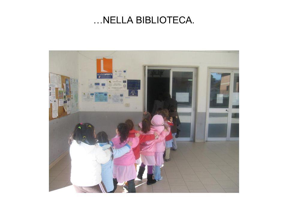 IN BIBLIOTECA SI RISPETTANO TANTE REGOLE..