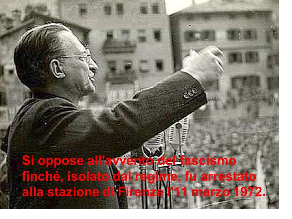 Nel 1945 fu nominato presidente del consiglio dei ministri, l ultimo del Regno ditalia.