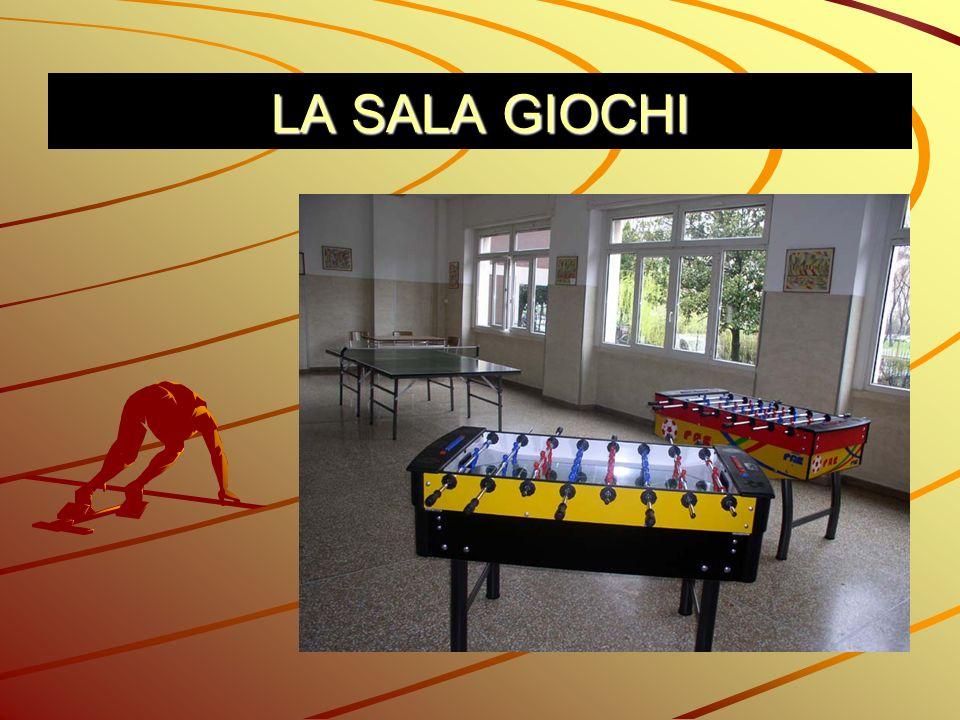 SITUAZIONE DI PARTENZA: La sala giochi è aperta tutti i giorni, è presente giornalmente un giovane in servizio civile.