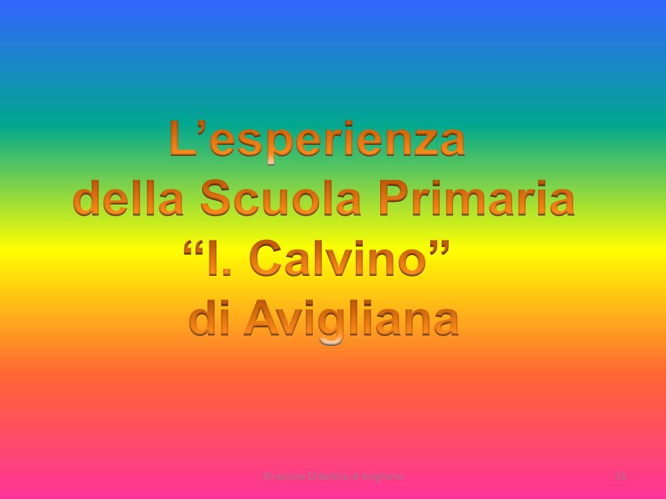 Direzione Didattica di Avigliana11