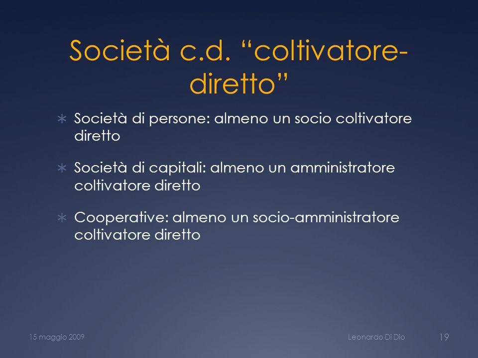 Società c.d.