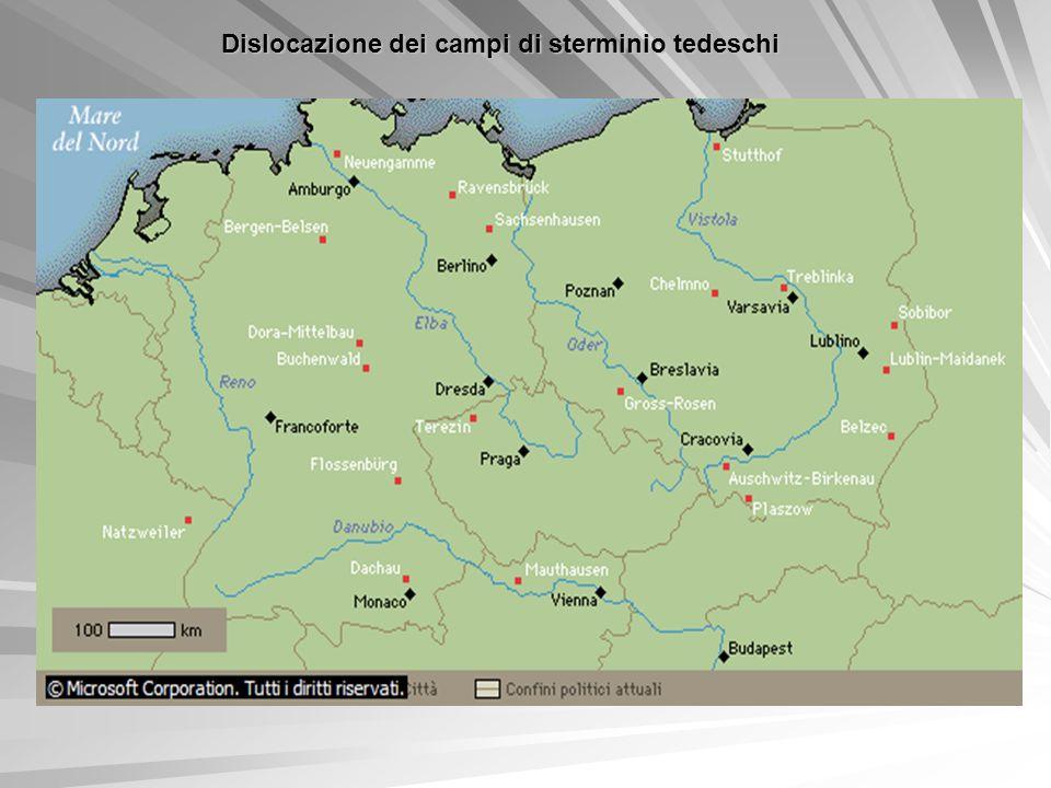Dislocazione dei campi di sterminio tedeschi