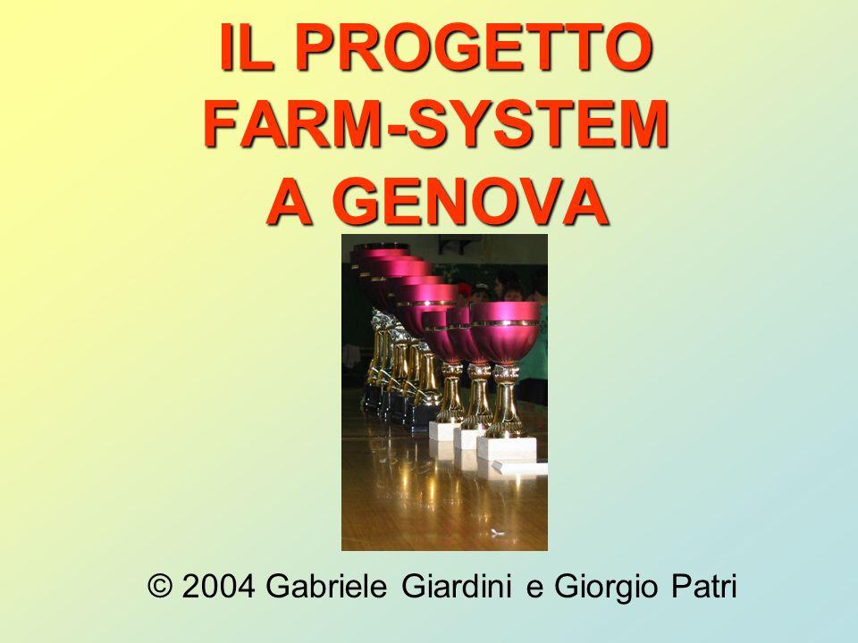 IL PROGETTO FARM-SYSTEM A GENOVA © 2004 Gabriele Giardini e Giorgio Patri