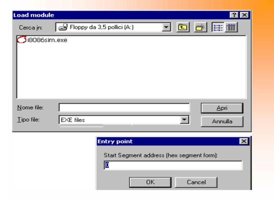 Menù in Form1 Load… Finestra di dialogo per la selezione del file EXE da allocare in memoria.