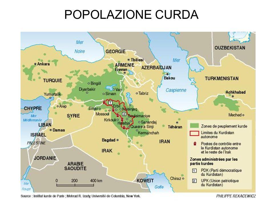 POPOLAZIONE CURDA