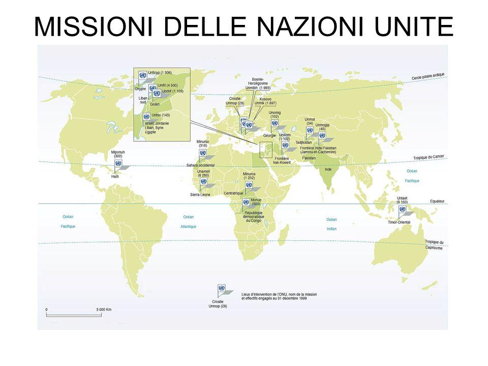 MISSIONI DELLE NAZIONI UNITE