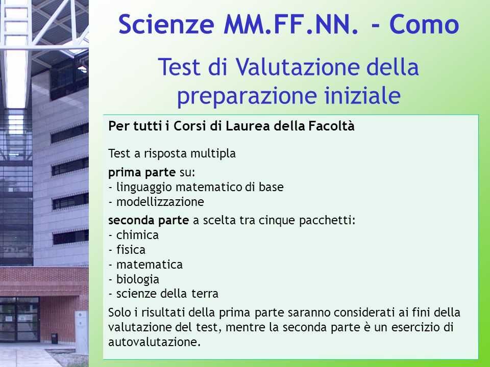 Scienze MM.FF.NN.