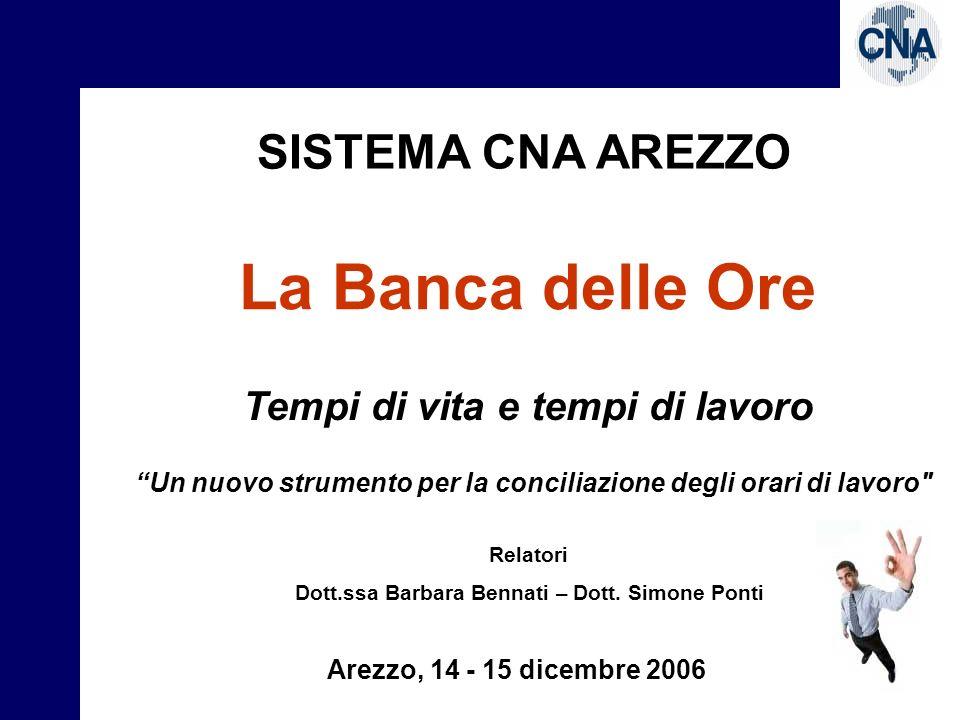 La Banca delle Ore L.53/2006 art.