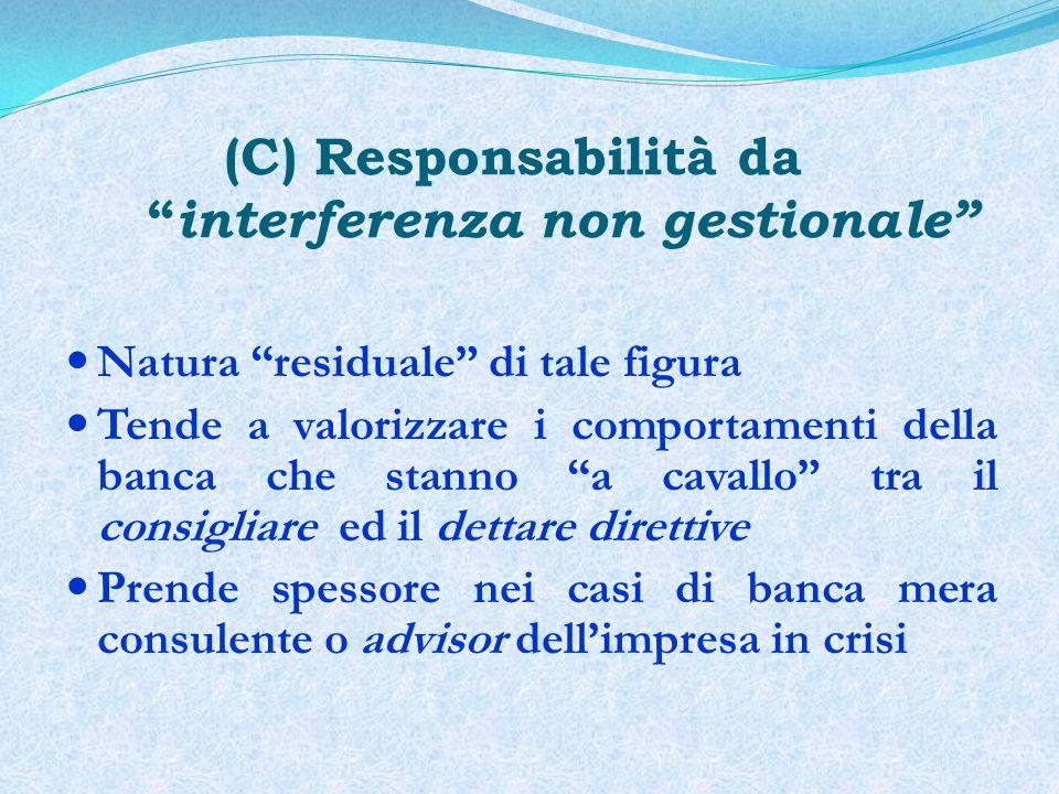 Soggetti ed interessi in cerca di tutela I creditori sociali, e il loro interesse: (a) alla conservazione dellintegrità del patrimonio (b) alla propria libertà di autodeterminazione contrattuale