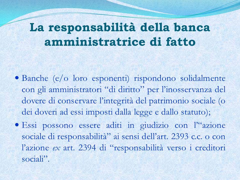 Lo stimolo, interessato, alla sottoscrizione di piani di risanamento o di accordi di ristrutturazione