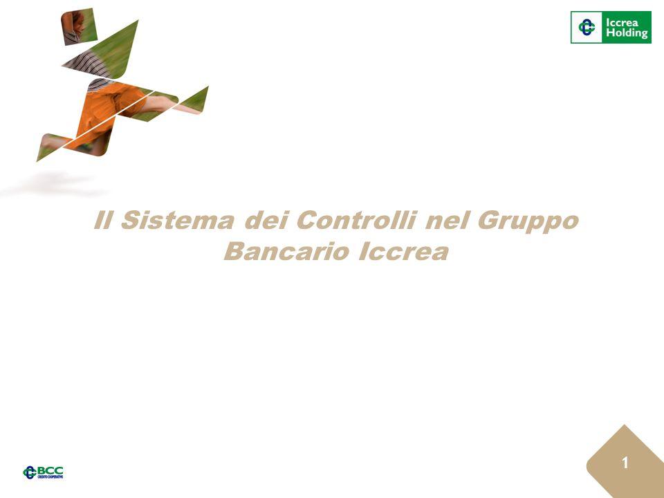 Il Sistema dei Controlli nel Gruppo Bancario Iccrea 11