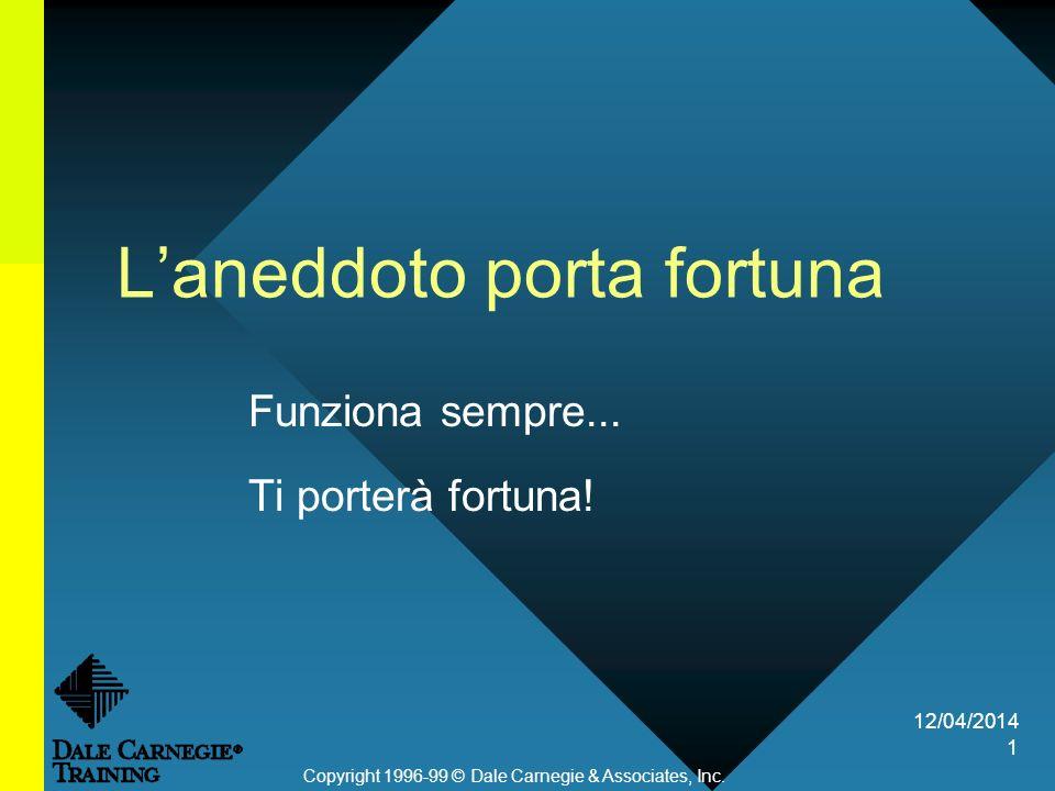 12/04/2014 1 Laneddoto porta fortuna Funziona sempre...