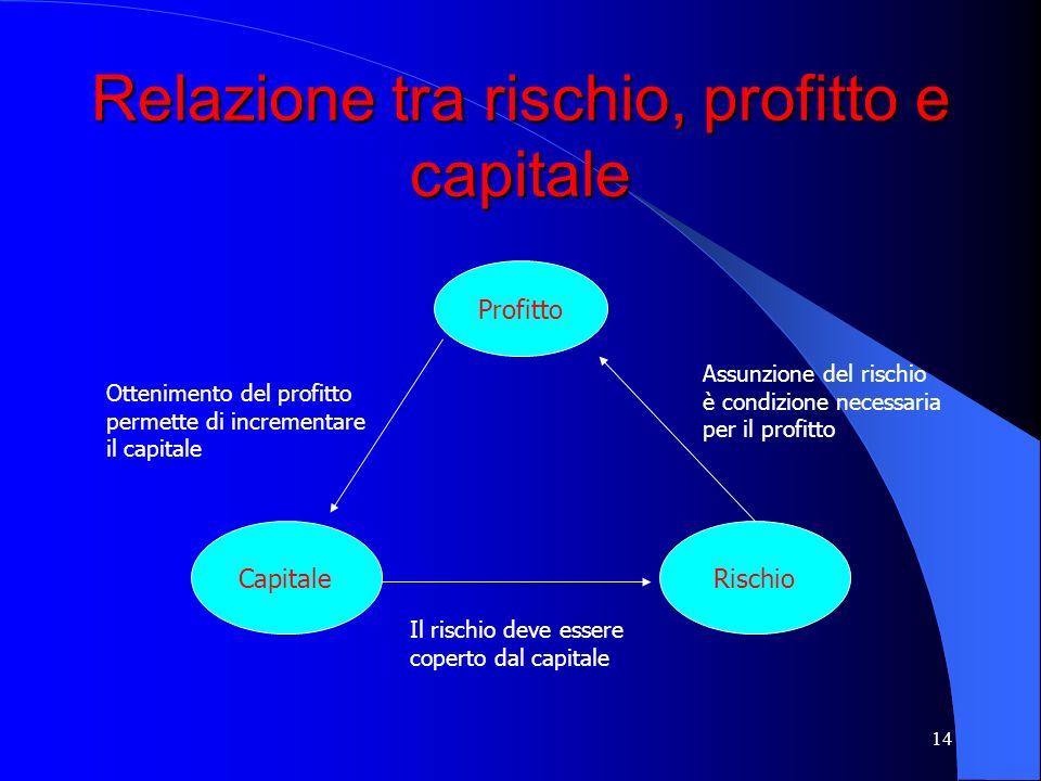 13 Il modello Rorac Capitale Rischio Profitto