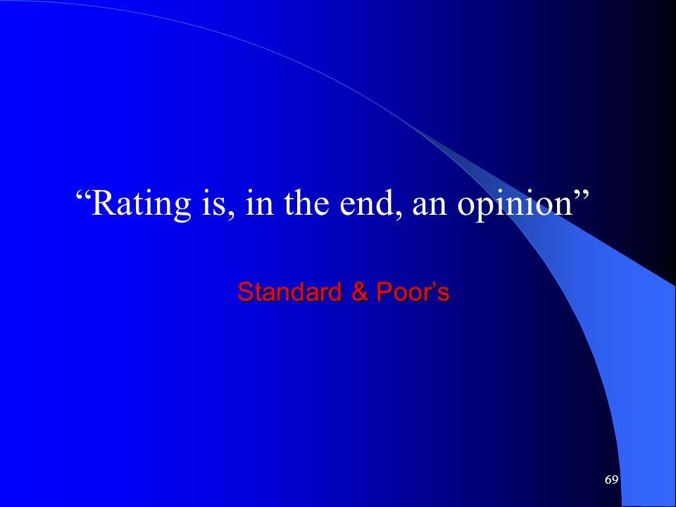 68 La sfida per il futuro Rendere il rating uno strumento capace di monitorare la realtà molto dinamica e peculiare che caratterizza la PMI italiana