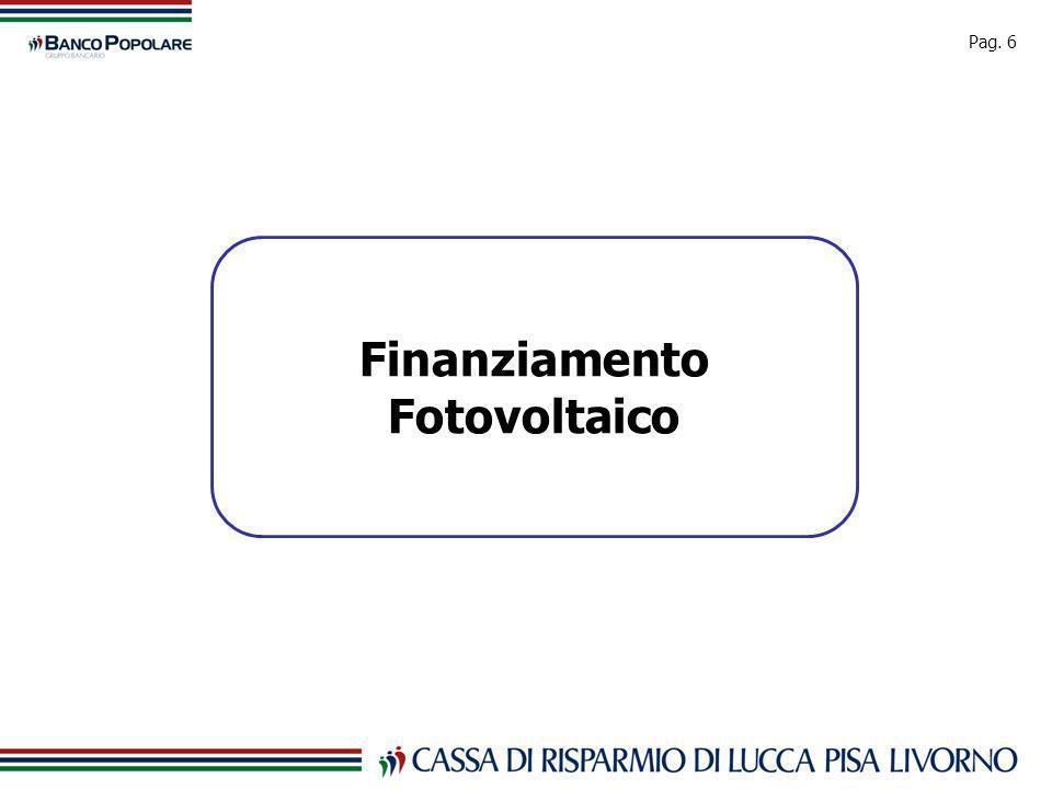 Pag. 6 Finanziamento Fotovoltaico
