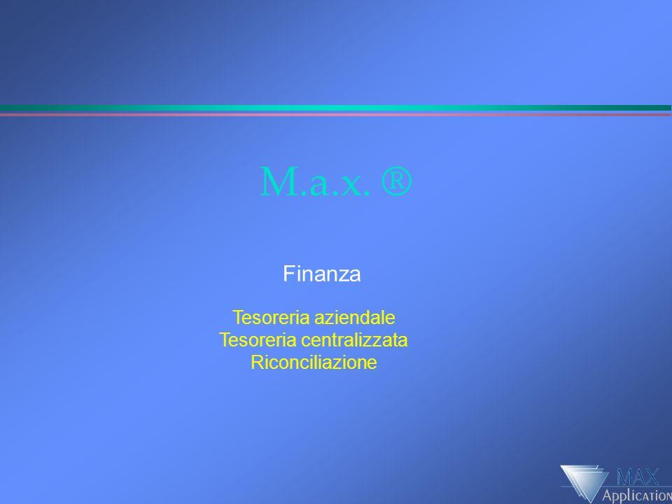 Finanza Gestione integrata tesoreria Holding Finanziamenti Portafoglio Conti correnti Riconciliazione continua Reporting finanziario