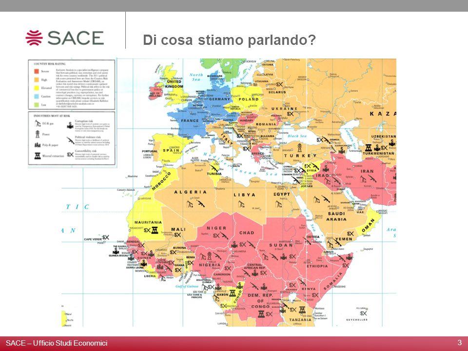Di cosa stiamo parlando? 3 SACE – Ufficio Studi Economici