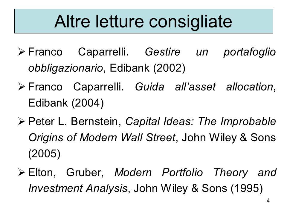 4 Altre letture consigliate Franco Caparrelli.
