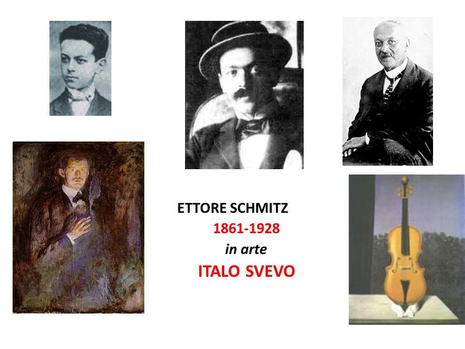 ETTORE SCHMITZ 1861-1928 in arte ITALO SVEVO
