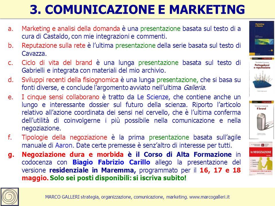 MARCO GALLERI strategia, organizzazione, comunicazione, marketing.