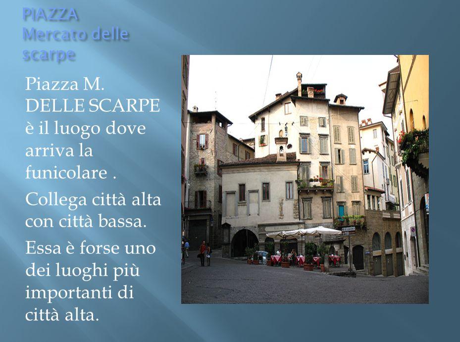 La T orre dei Caduti di Bergamo si trova nella parte bassa della città in piazza Vittorio Veneto, all inizio del Sentierone, il cosiddetto salotto di Bergamo.
