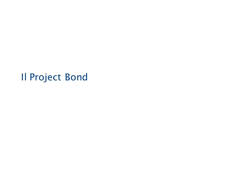 Il Project Bond