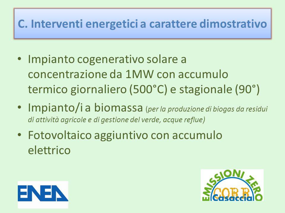 Impianto solare a concentrazione 1MW – 4 GWh: un possibile layout