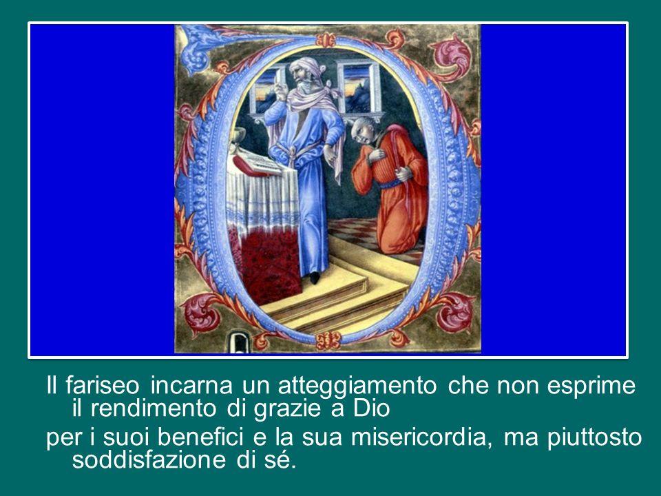 Il brano del Vangelo mette in evidenza due modi di pregare, uno falso – quello del fariseo – e laltro autentico – quello del pubblicano.