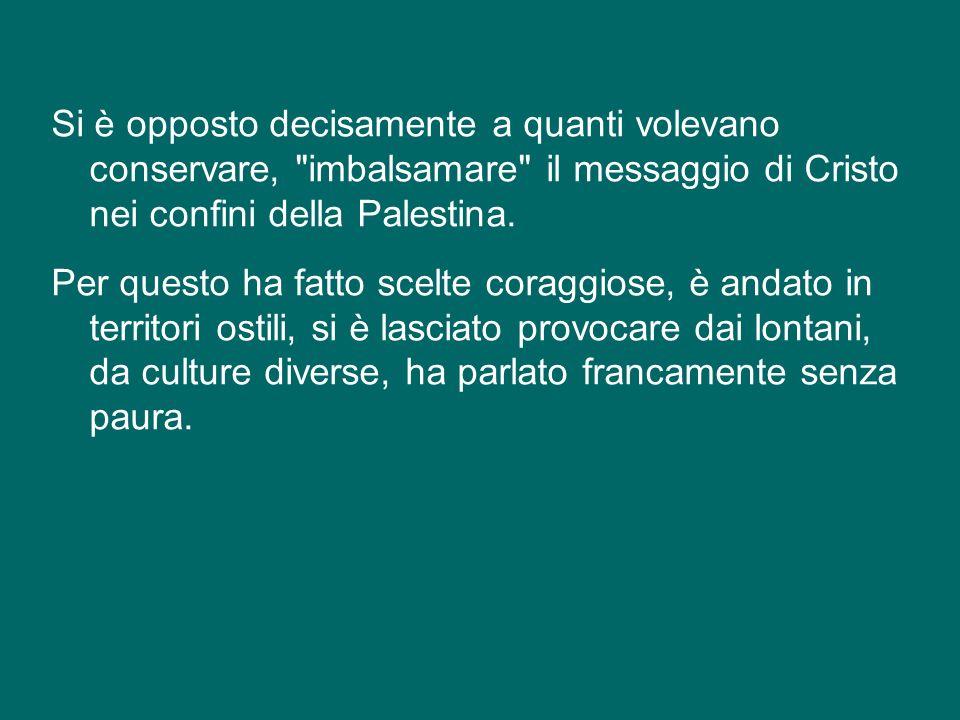 San Paolo paragona la sua vita a una battaglia e a una corsa.