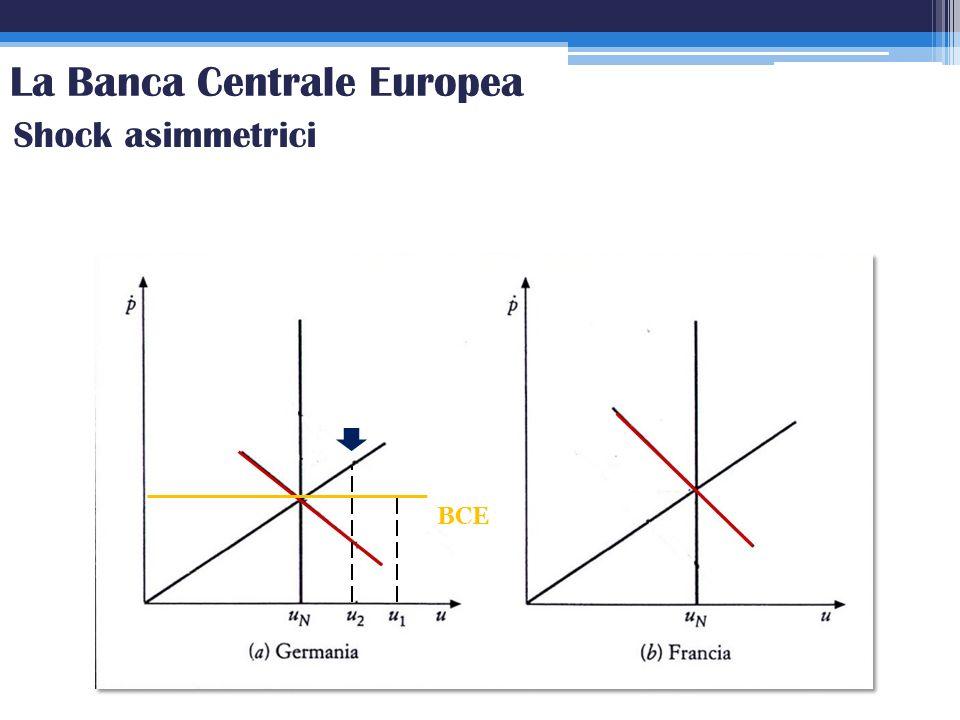 BCE Shock asimmetrici La Banca Centrale Europea
