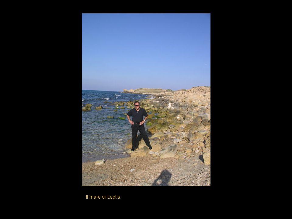 Il mare di Leptis.