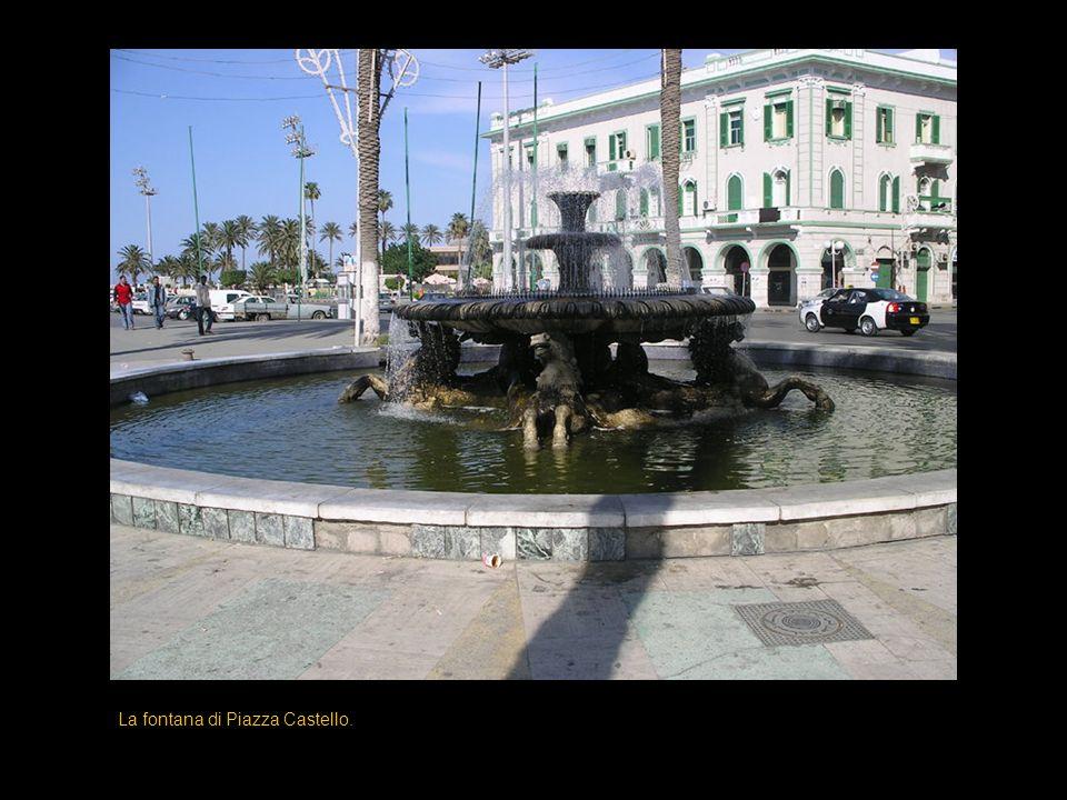 La fontana di Piazza Castello.
