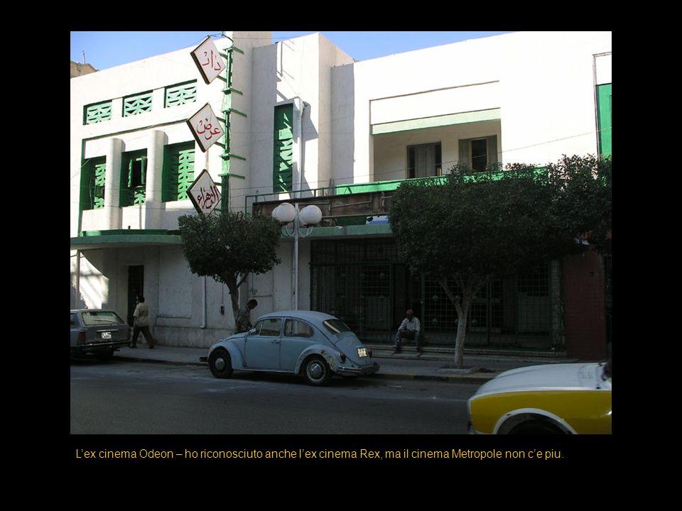 Lex cinema Odeon – ho riconosciuto anche lex cinema Rex, ma il cinema Metropole non ce piu.