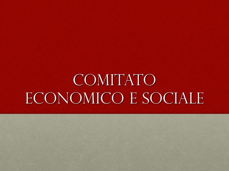 Comitato economico e sociale