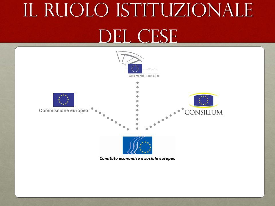 Il ruolo istituzionale del CESE Commissione europea