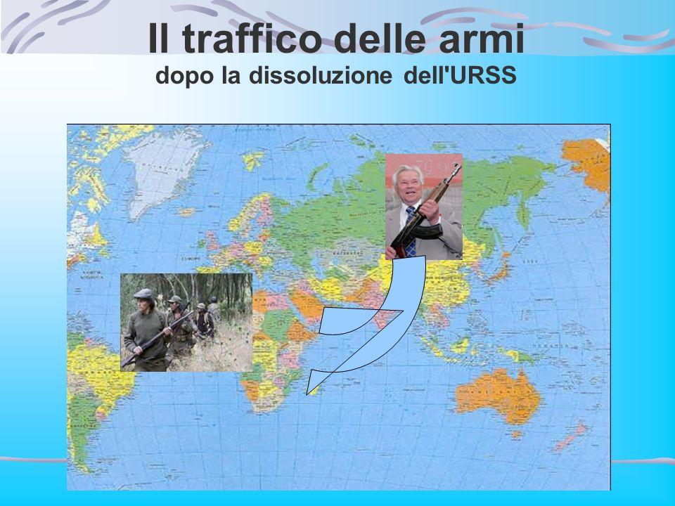 Il traffico delle armi dopo la dissoluzione dell'URSS