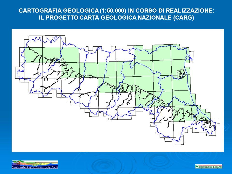 4 205 222223 239240-41 CARTOGRAFIA GEOLOGICA (1:50.000) IN CORSO DI REALIZZAZIONE: IL PROGETTO CARTA GEOLOGICA NAZIONALE (CARG)