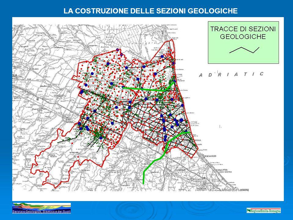 8 LA COSTRUZIONE DELLE SEZIONI GEOLOGICHE