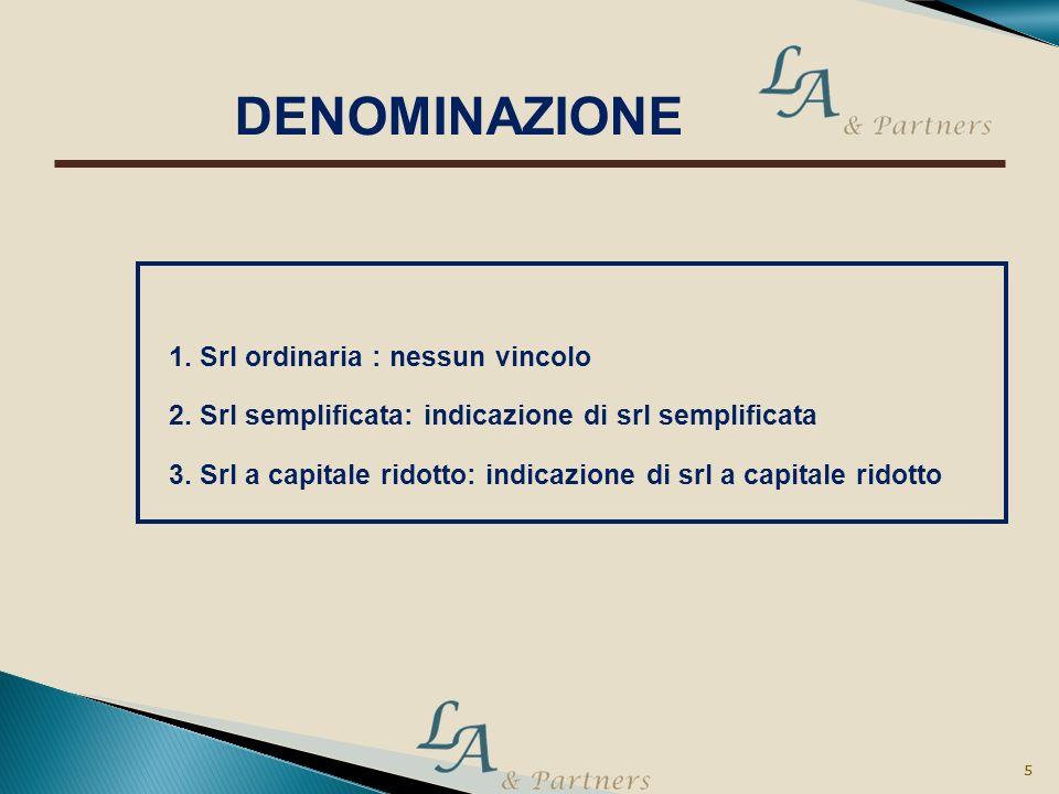 4 4 1. Srl ordinaria : atto pubblico 2. Srl semplificata: atto pubblico standard 3. Srl a capitale ridotto: atto pubblico FORMA ATTO