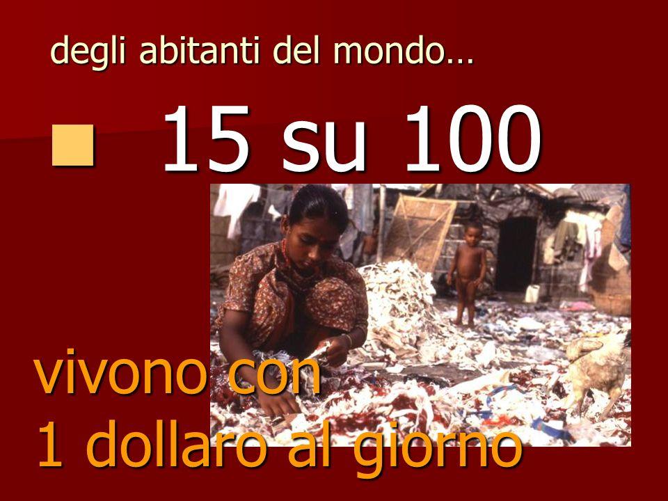 20 su 100 20 su 100 degli abitanti del mondo… sono analfabeti