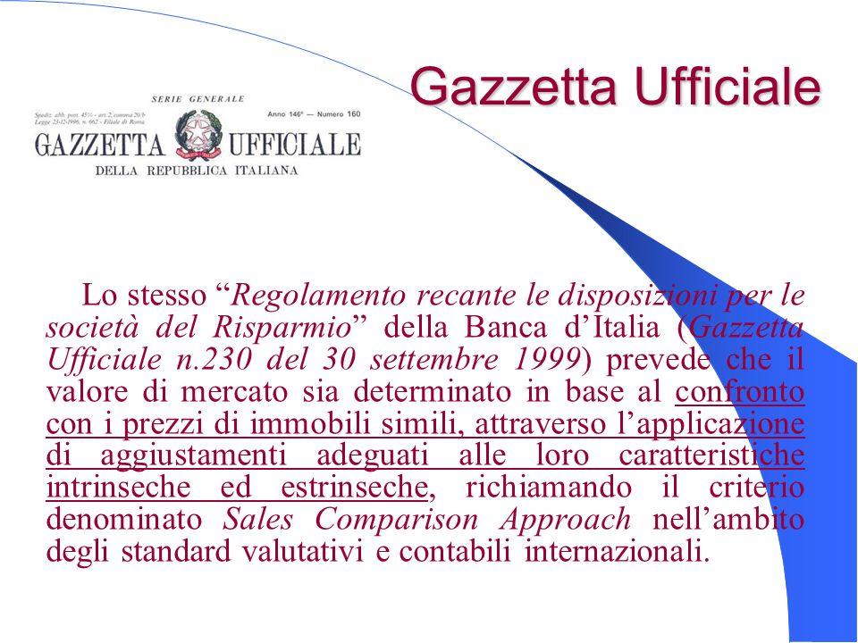 Gazzetta Ufficiale Gazzetta Ufficiale Lo stesso Regolamento recante le disposizioni per le società del Risparmio della Banca dItalia (Gazzetta Ufficia