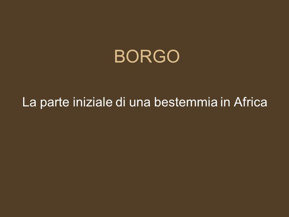 BONGO La plastilina utilizzata in Africa