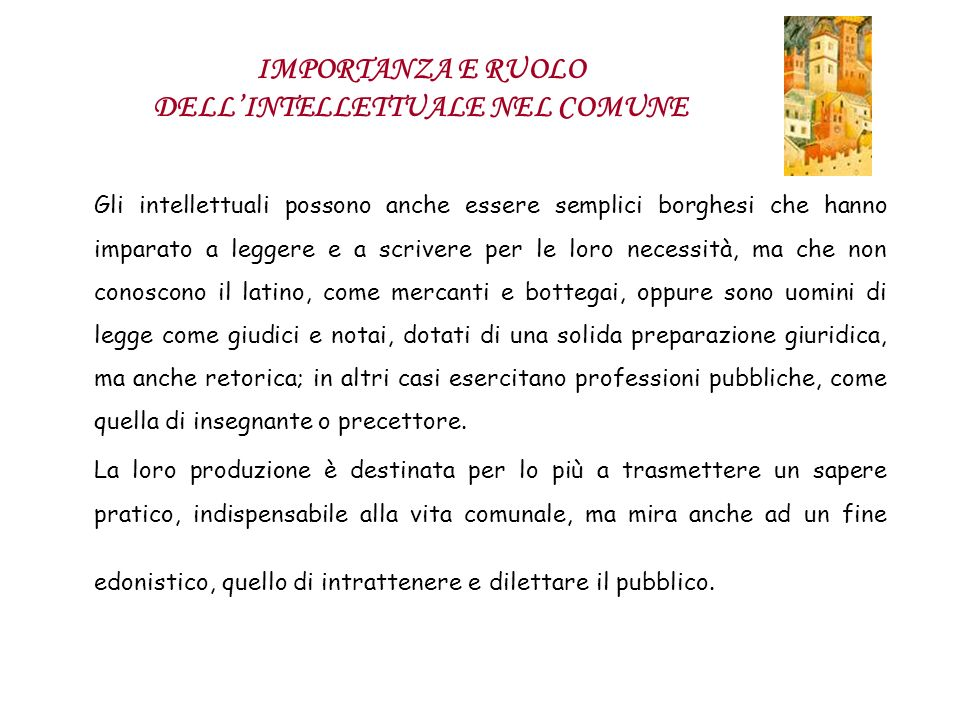 Boccaccio vive un doppio rapporto con la realtà cittadina, in relazione ai due momenti fondamentali della sua vita: la permanenza a Napoli e il ritorno a Firenze.