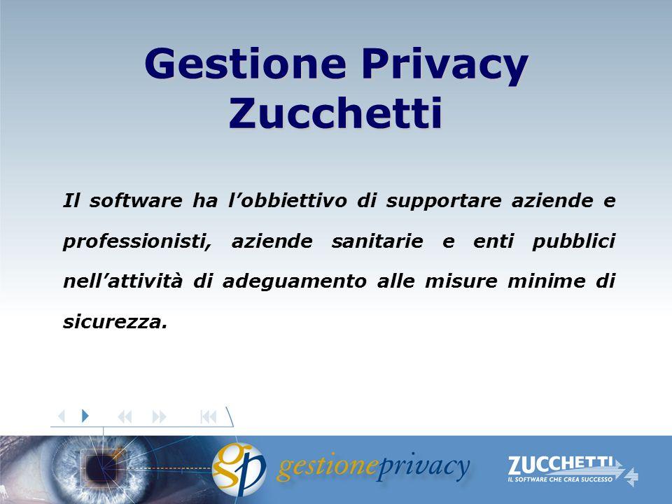 Il software ha lobbiettivo di supportare aziende e professionisti, aziende sanitarie e enti pubblici nellattività di adeguamento alle misure minime di sicurezza.