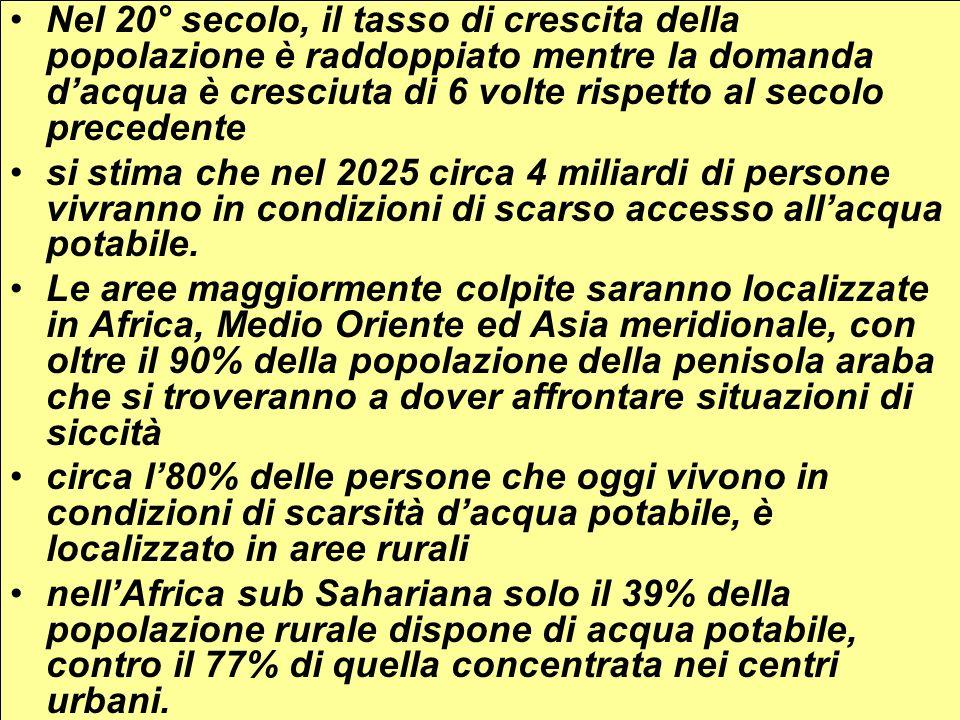 Rischio desertificazione in Italia