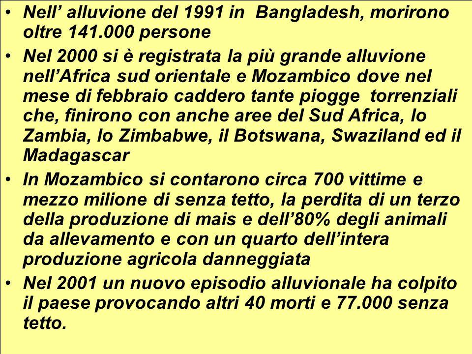 PATOLOGIAMORBIDITA (episodi/anno o persone infette) DECESSI (morti/anno) Patologie gastrointestinali1.000.000.0003.300.000 Elminti intestinali1.500.000.000 (persone infette)100.000 Schistosomiasi200.000.000 (persone infette)200.000 Dracunculiasi150.000 (dati 1996)- Dracoma150.000.000 (casi attivi)- Malaria400.000.0001.500.000 Febbre di Dengue1.750.00020.000 Poliomielite114.000- Tripanosomiasi275.000130.000 Filaria72.800.000- Oncocerciasi17.700.000 (di cui 270.000 ciechi)40.000 (morti per cecità)
