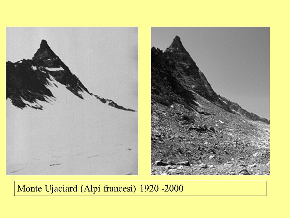 Monte Ujaciard (Alpi francesi) 1920 -2000